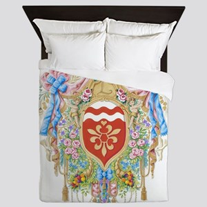 Versailles-style Arms of the Chevalier Queen Duvet