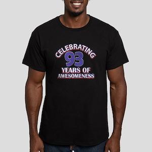 Celebrating 93 Years Men's Fitted T-Shirt (dark)