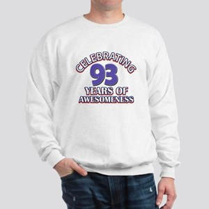 Celebrating 93 Years Sweatshirt