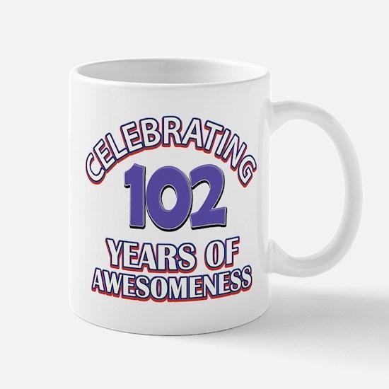 Celebrating 102 Years Mug