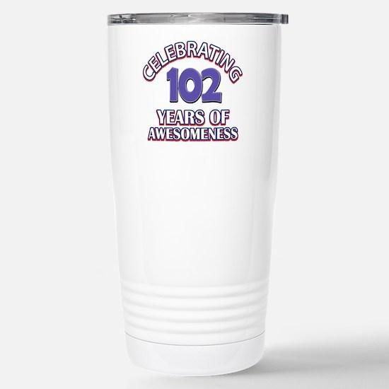 Celebrating 102 Years Stainless Steel Travel Mug