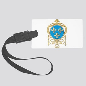 Royal Arms of France Large Luggage Tag