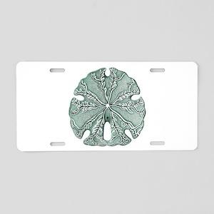 Sand Dollar Aluminum License Plate