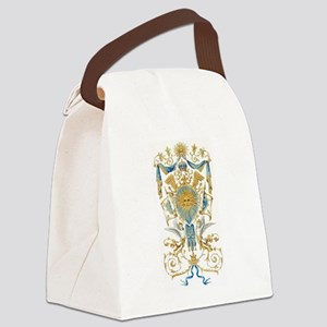 Badge of King Louis XIV Canvas Lunch Bag