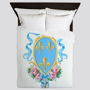 French Neoclassical Arms Queen Duvet
