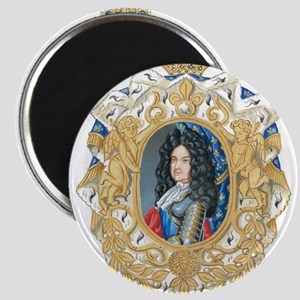 King Louis XIV Magnets