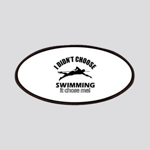 I Didn't Choose Swimming Patch