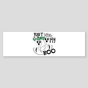 With My Boo Bumper Sticker