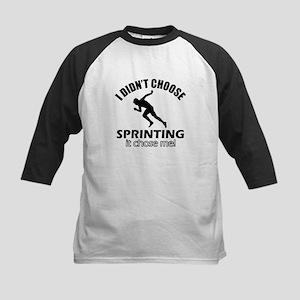 I Didn't Choose Sprinting Kids Baseball Jersey