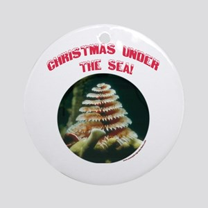 Christmas Under The Sea Ornament (Round)