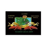 Krewe of Ponchartrain L Rectangle Magnet (10 pack)