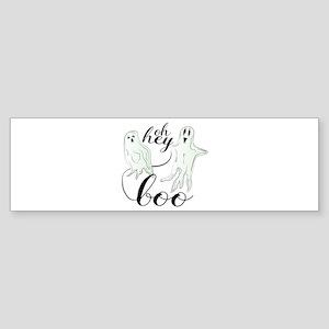 Hey Boo Bumper Sticker