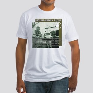 General G.S. Patton Fitted T-Shirt