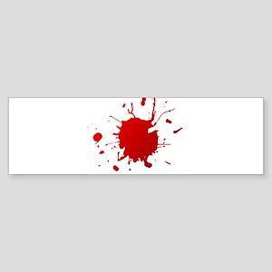 Blood splatter Bumper Sticker