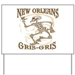 New Orleans Grsi Gris Yard Sign