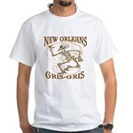 New Orleans Grsi Gris White T-Shirt