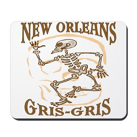 New Orleans Grsi Gris Mousepad