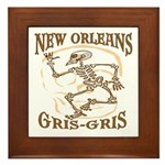 New Orleans Grsi Gris Framed Tile