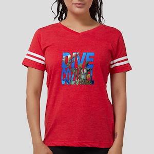 Dive Cozumel Women's Dark T-Shirt