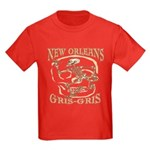 New Orleans Grsi Gris Kids Dark T-Shirt
