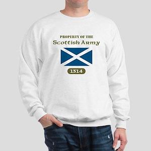 Scottish Army Sweatshirt