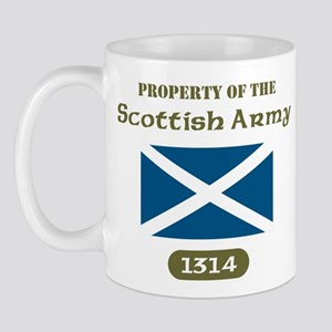 Scottish Army Mug