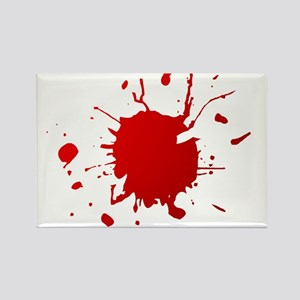 Blood splatter Rectangle Magnet