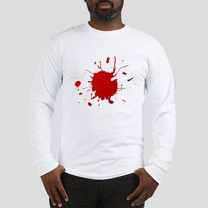 Blood splatter Long Sleeve T-Shirt