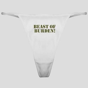 BEAST OF BURDEN! Classic Thong