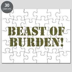 BEAST OF BURDEN! Puzzle
