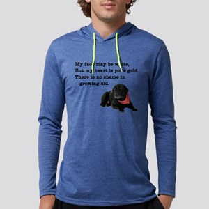 Old Black Lab Long Sleeve T-Shirt