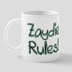 Zaydie Rules! Mug
