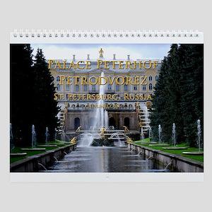 Peterhof Russia Wall Calendar