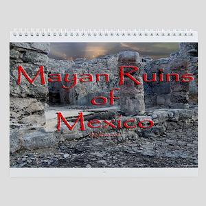 Wall Calendar Mayan Ruins Of Mexico