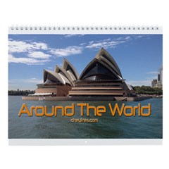 World Traveler Wall Calendar