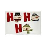 Ho Ho Ho Rectangle Magnet