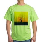 72.naked tree..? Green T-Shirt