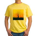 72.naked tree..? Yellow T-Shirt