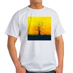 72.naked tree..? Ash Grey T-Shirt