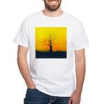72.naked tree..? White T-Shirt