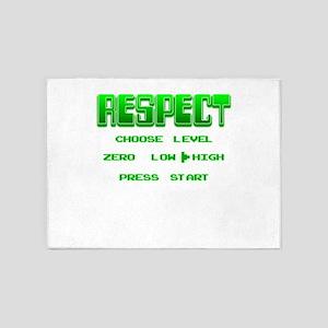 RESPECT Green 5'x7'Area Rug