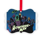 The NoWhere-Men Cliff Image Picture Ornament