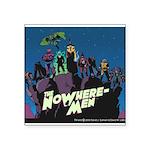 The NoWhere-Men Cliff Image Square Sticker 3