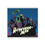 The NoWhere-Men Cliff Image Square Sticker 3