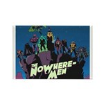 The NoWhere-Men Cliff Image Rectangle Magnet