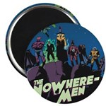 The NoWhere-Men Cliff Image Magnet