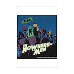 The NoWhere-Men Cliff Image Mini Poster Print
