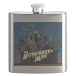 The NoWhere-Men Cliff Image Flask