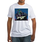 The NoWhere-Men Cliff Image Fitted T-Shirt