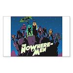 The NoWhere-Men Cliff Im Sticker (Rectangle 10 pk)